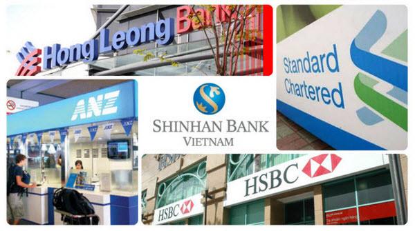 Danh sách ngân hàng nước ngoài tại Việt Nam, loại 100% vốn
