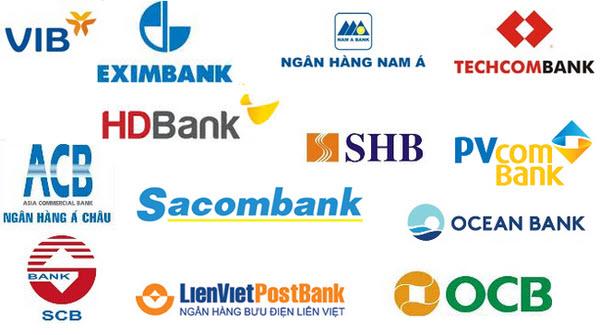 Danh sách ngân hàng thương mại cổ phần, bản FULL 39 ngân hàng