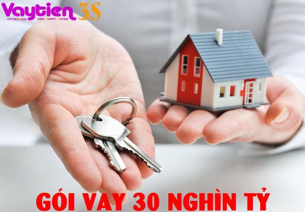 Hồ sơ vay gói 30 nghìn tỷ mua nhà - Vaytien3s.com