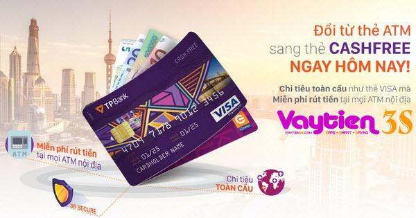 Thẻ Visa Cash Free của TP Bank có mấy hạng?