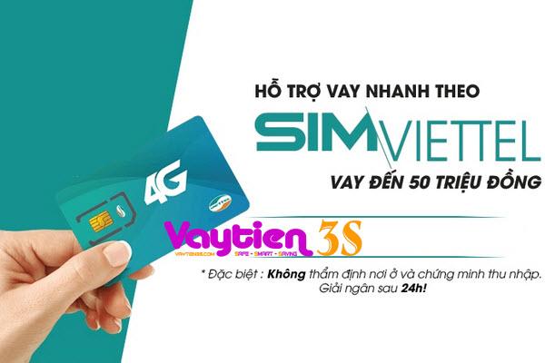 Vay tiền bằng SIM Viettel là như thế nào - Vaytien3s.com