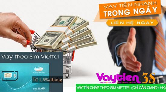 Vay tiền bằng SIM Viettel tại Hà Nội nhanh chóng, an toàn, miễn phí