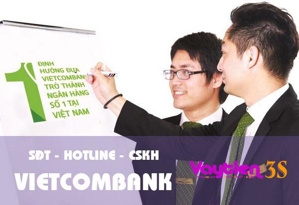 Tổng đài Vietcombank, SĐT Hotline Vietcombank, CSKH Vietcombank