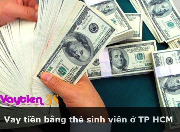 Vay tiền bằng thẻ sinh viên ở TP HCM