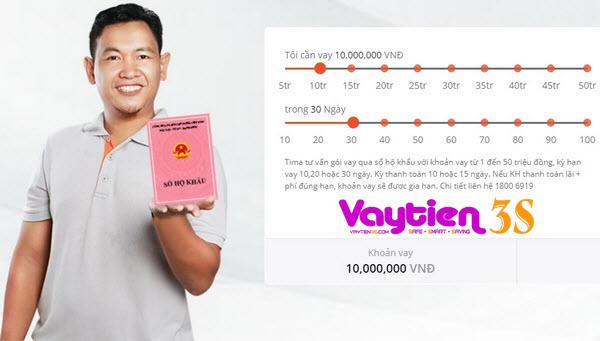 Vay tiền theo hộ khẩu, hình thức MỚI hỗ trợ tới 50 triệu