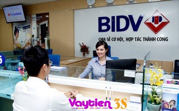 Vay tín chấp theo lương BIDV