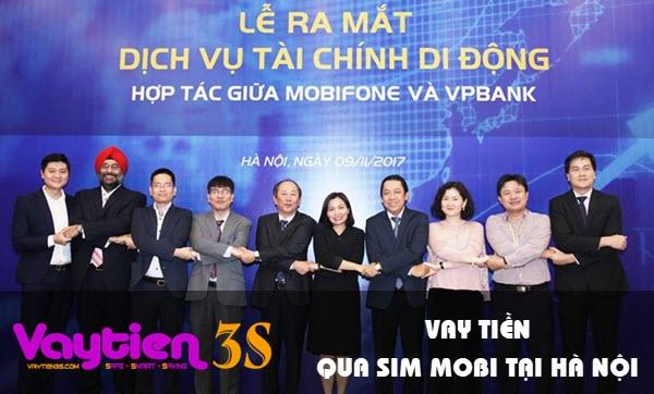 Vay tiền bằng SIM Mobifone tại Hà Nội, hình thức mới, khoản vay lớn