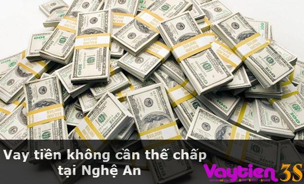 Vay tiền không cần thế chấp tại Nghệ An