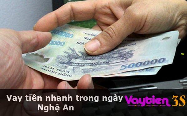 Vay tiền nhanh trong ngày Nghệ An