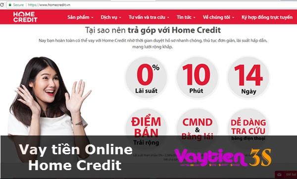 Vay tiền Online Home Credit