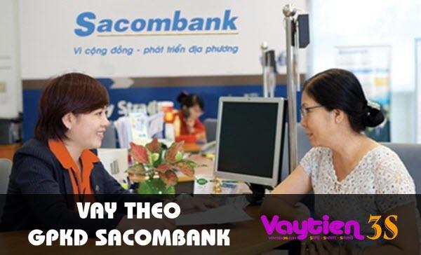 Vay theo giấy phép kinh doanh Sacombank