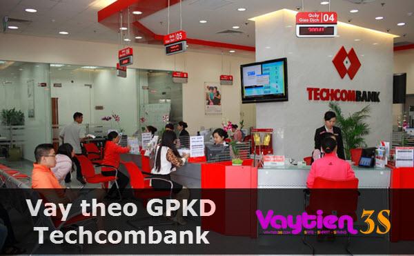 Vay theo giấy phép kinh doanh Techcombank
