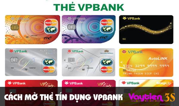 Cách mở thẻ tín dụng VPBank – đăng ký đơn giản, nhận thẻ sau 48h