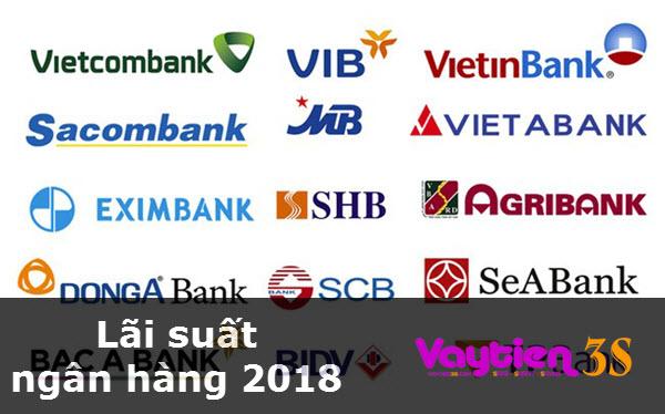 Lãi suất ngân hàng 2018, ĐẦY ĐỦ lãi suất huy động vốn, lãi suất vay