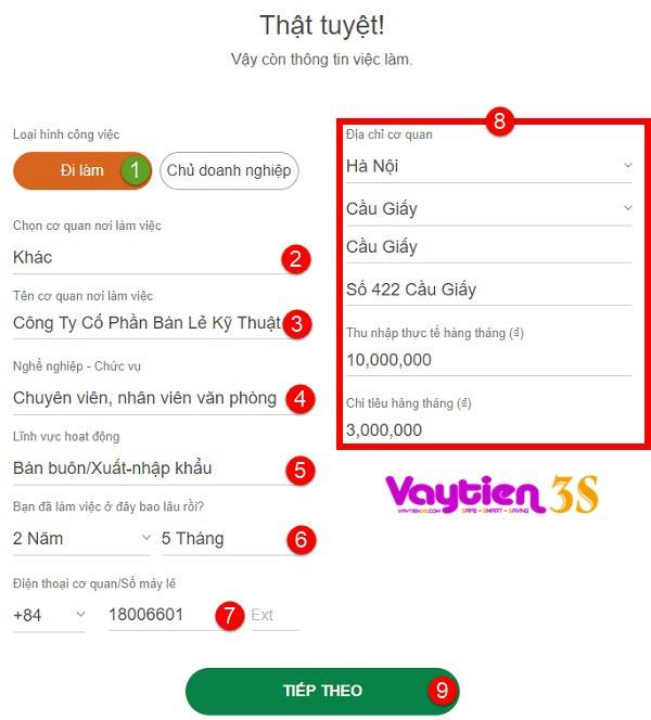 Hướng dẫn chi tiết cách làm thẻ tín dụng Online của VP Bank tại nhà