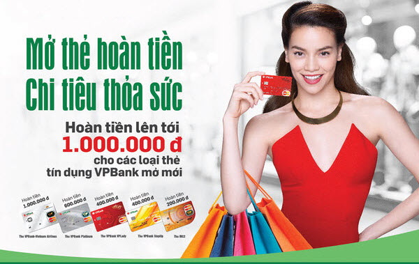 Ưu đãi mở thẻ tín dụng VP Bank Online, 20 phút đăng ký, nhận thẻ trong 48h; thu nhập chỉ từ 4.5 triệu/tháng