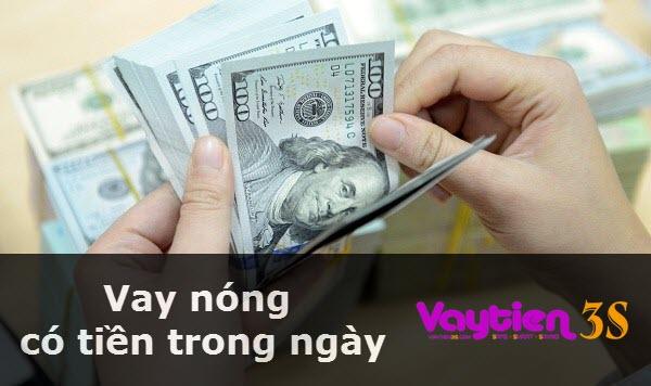 Vay nóng có tiền trong ngày