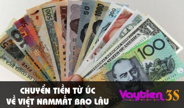 Chuyển tiền từ Úc về Việt Nam mất bao lâu