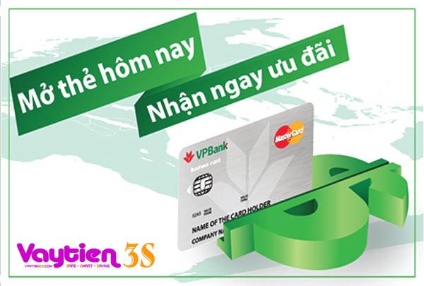 Điều kiện mở thẻ tín dụng VPBANK