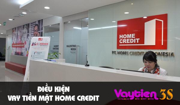 Điều kiện vay tiền mặt Home Credit, ĐƠN GIẢN, dễ đáp ứng