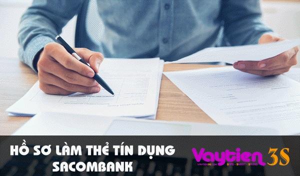 Hồ sơ làm thẻ tín dụng Sacombank