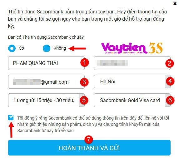Mở thẻ tín dụng tại Sacombank, nhiều ƯU ĐÃI tức thì, miễn lãi tới 55 ngày