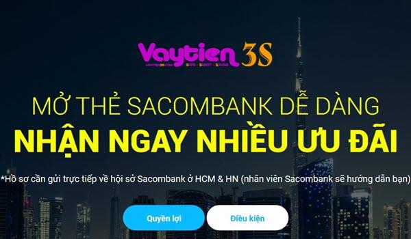 Mở thẻ tín dụng Sacombank, nhiều ƯU ĐÃI tức thì, miễn lãi tới 55 ngày