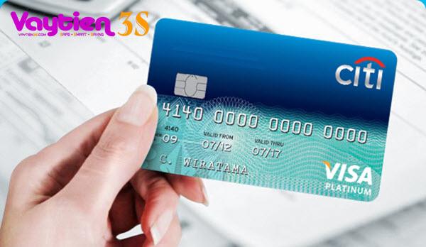 Phí rút tiền mặt thẻ tín dụng Citibank