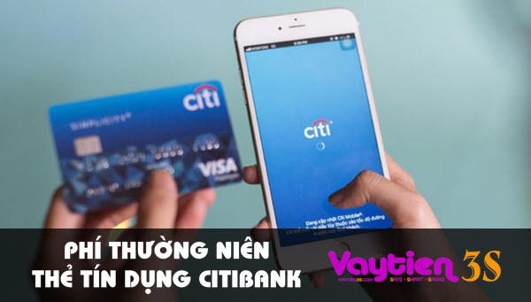 Phí thường niên thẻ tín dụng Citibank