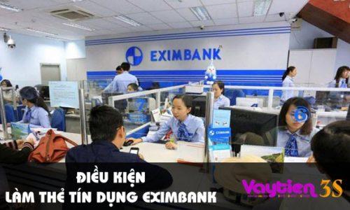 Điều kiện làm thẻ tín dụng Eximbank – phù hợp với nhiều đối tượng