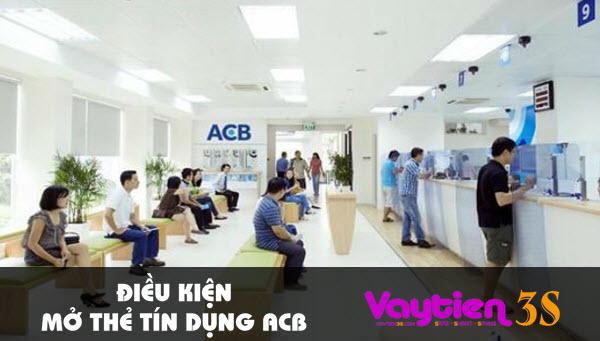 Điều kiện mở thẻ tín dụng ACB, những thông tin cần biết