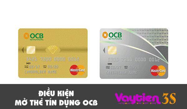 Điều kiện mở thẻ tín dụng OCB – dễ dàng và nhanh chóng