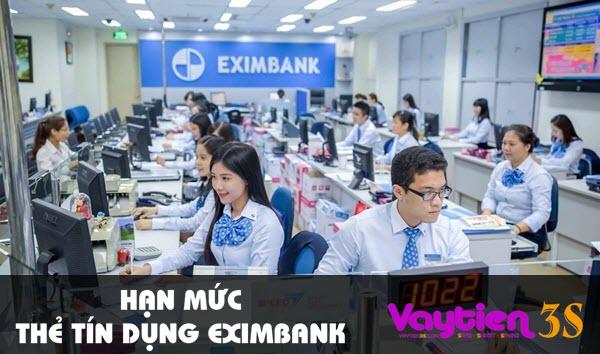 Hạn mức thẻ tín dụng Eximbank