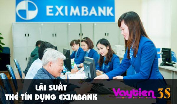 Lãi suất thẻ tín dụng Eximbank, những điều bạn cần biết