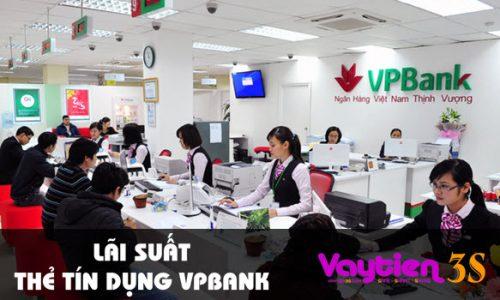 Lãi suất thẻ tín dụng VPBank – số liệu mới cập nhật