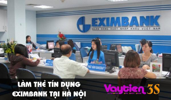 Làm thẻ tín dụng Eximbank tại Hà Nội, nhiều ưu đãi hấp dẫn