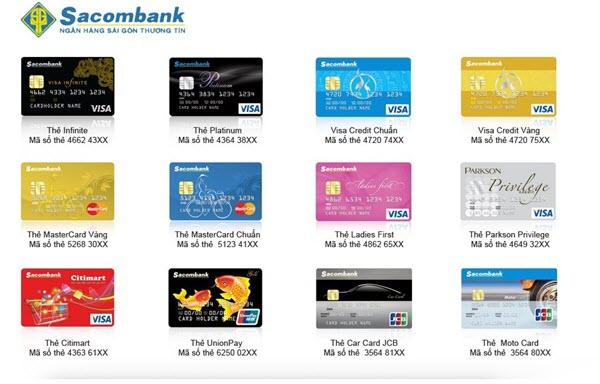 Làm thẻ tín dụng Sacombank mất bao lâu
