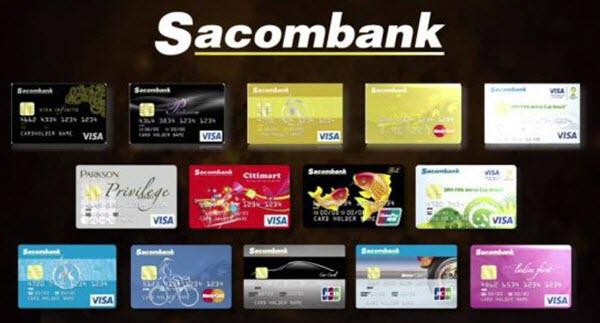 Làm thẻ tín dụng Sacombank TPHCM