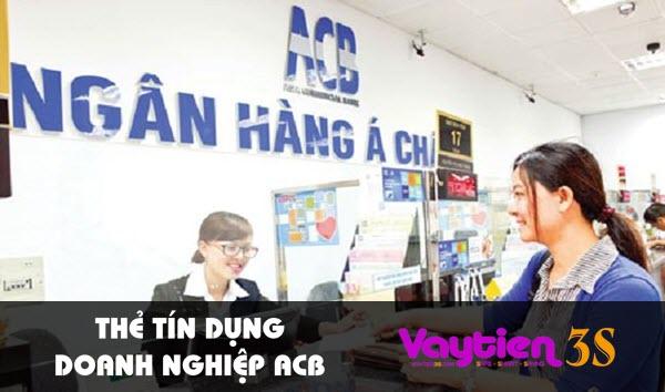 Thẻ tín dụng doanh nghiệp ACB