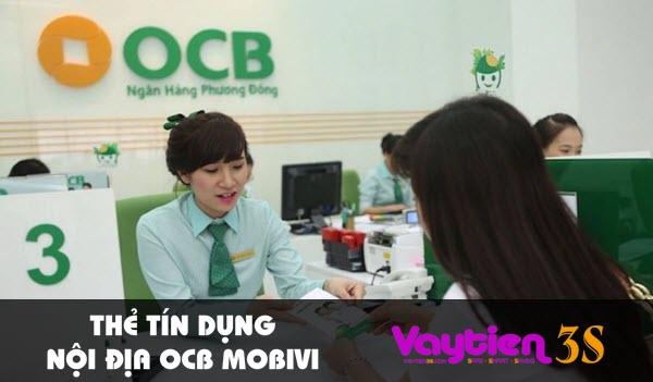 Thẻ tín dụng nội địa OCB mobivi
