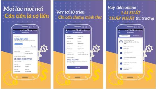 Ứng dụng vay tiền Fiin - Vay online - Cho vay nhanh, an toàn