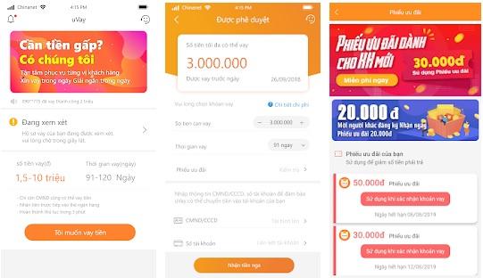 App uVay (Evay): Vay Tiền Lấy Liền - Online Nhanh