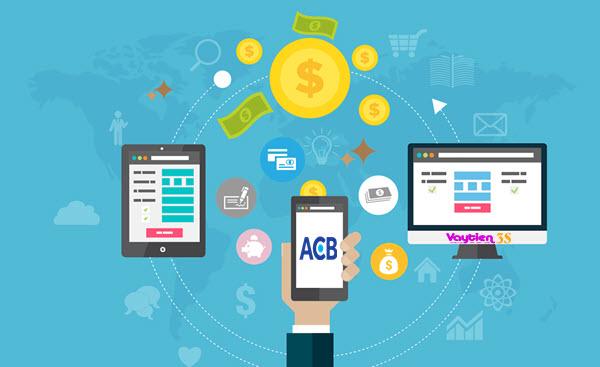 Vay tiền qua App ACB; ngân hàng Á Châu Việt Nam, ACB Bank